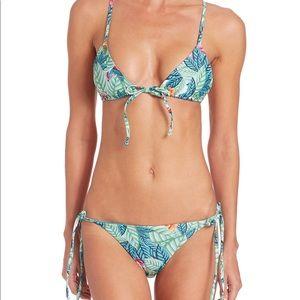 Mara Hoffman Leaf Print Bikini